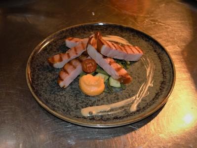 Gegrild speenvarken - Cochon de lait grillé
